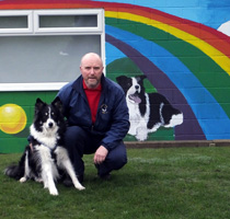 Ben Wilkes, Border Collie Trust GB, Staffordshire