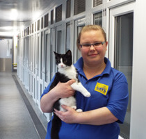 Claire Frangleton, Cats Protection - Warrington Adoption Centre, Cheshire