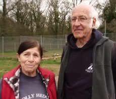 David & Sandy Bailey, Holly Hedge Animal Sanctuary, Bristol