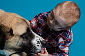 A life-changing friendship story of a boy and his dog