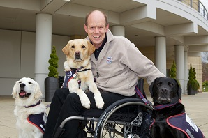 Hounds for Heroes assistance dogs takeover Petplan!