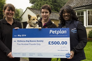 May prize draw winner: Chilterns Dog Rescue Society