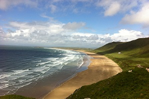View of Rhossili Bay, Gower