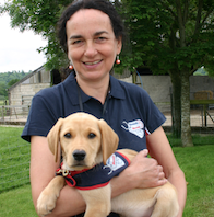 Meet Hounds for Heroes 'puppy parent' Grace