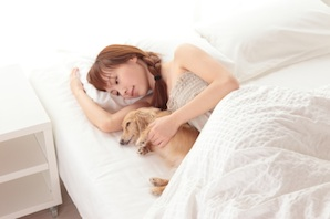 Is it fine to share your bed with your pet? Debate update